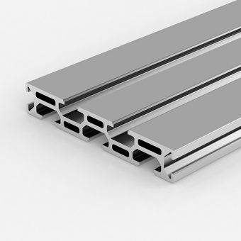 Aluminium Extrusion Profile PG30 15x90 mm 7 Slots - 10-cm - al-clear-anodized - pg30